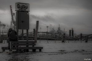 Land unter (Fischmarkt Hamburg)