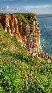 Steilküste beim Cap d'Antifer
