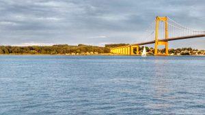 Brücke zur Insel Fyn